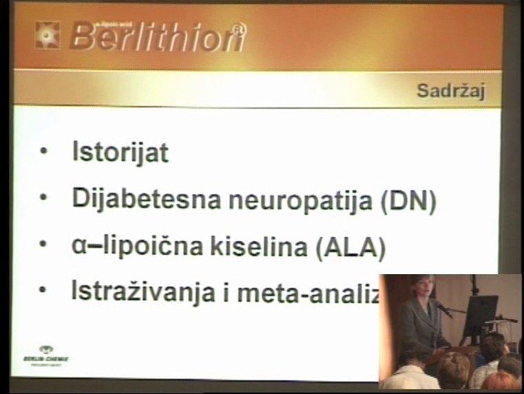Berlithion-tioktinska kiselina novi iskorak u lečenju dijabetične polineuropatije