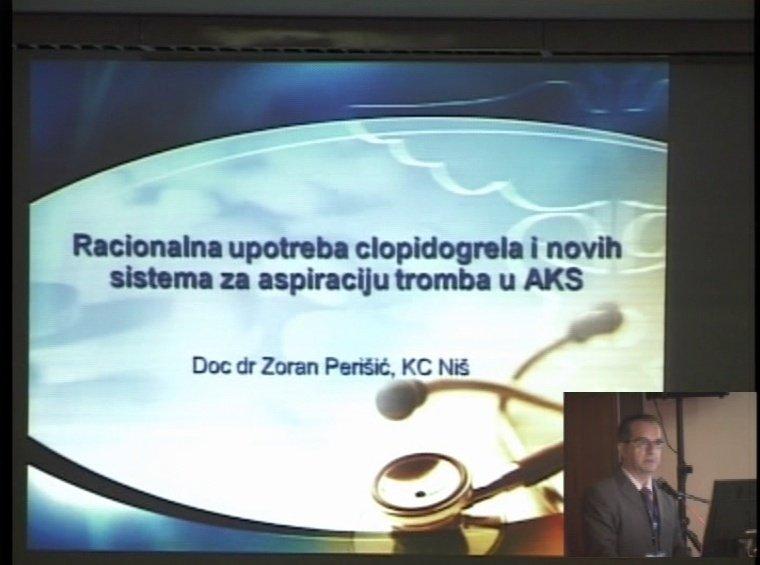 Racionalna upoterba Clopidrogrela i novih sistema za aspiraciju tromba u akutnom koronarnom sindromu