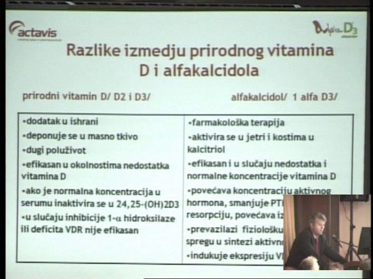 Alfakalcitol - više od vitamina D u terapiji i prevenciji padova i osteoporotičnih fraktura