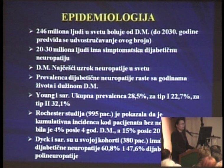 Dijabetična polineuropatija
