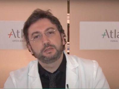 U 30. epizodi Stetoskop TV emisije na Televiziji Zdravlje, dr Nenad Živković, neurohirurg, odgovara na pitanja u vezi sa tumorima, diskus hernijom i osteoporozom.