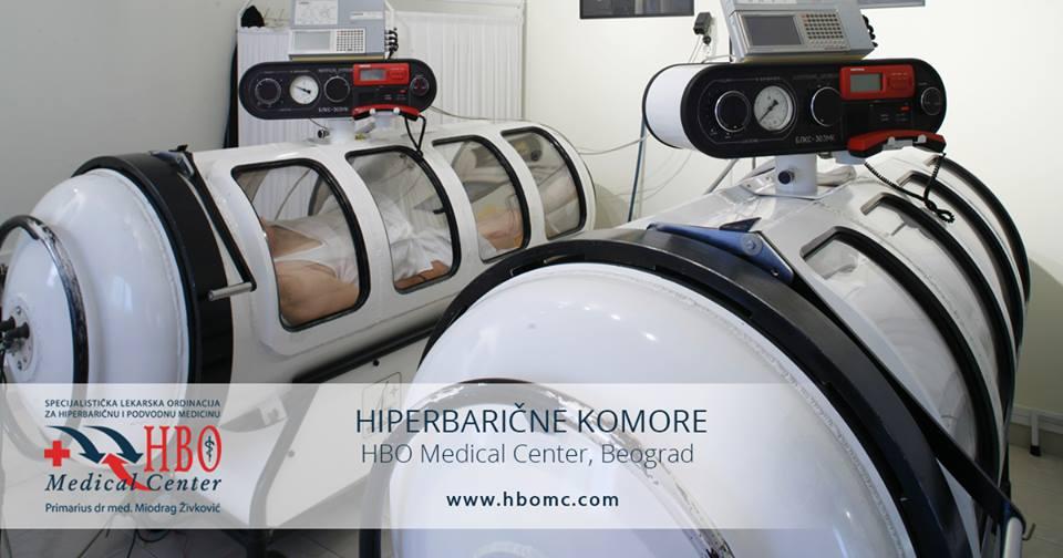 Hiperbarične komore - HBO Medical Centar