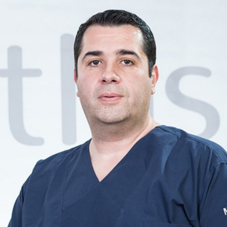 Ass. dr sci. med. Đorđe Knežević, Specijalista opšte hirurgije