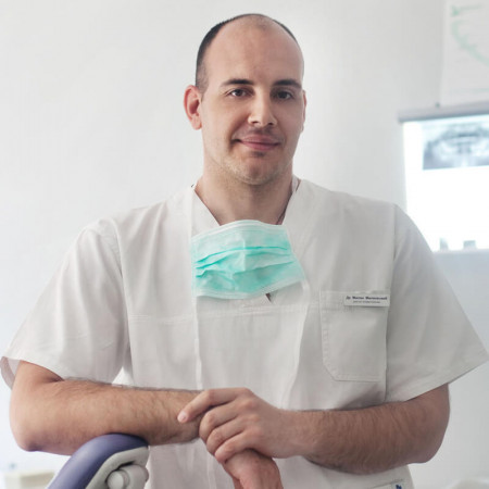 Dr Milan Milenković, Stomatolog