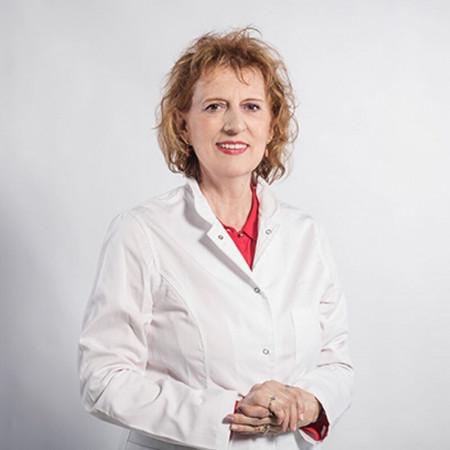 Dr Mirjana Grubor Urošević je specijalista je pulmologije sa supspecijalizacijom iz fizikalne rehabilitacije kardio-respiratornih oboljenja.
