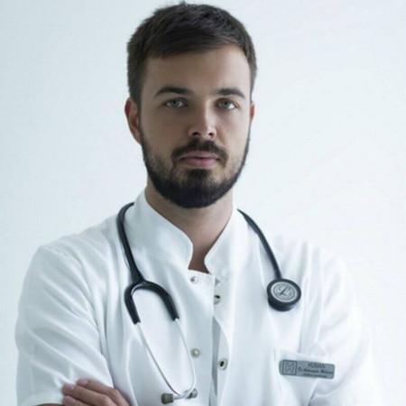 Dr Aleksandar Milićević, Lekar opšte medicine, specijalizant patologije