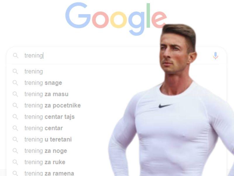 TRENING: odgovara personalni trener Miki Pešić