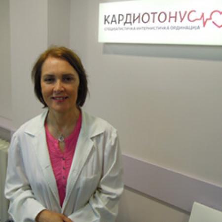 Dr Ivana Kuprešanin je specijalista interne medicine-kardiolog iz Beograda.