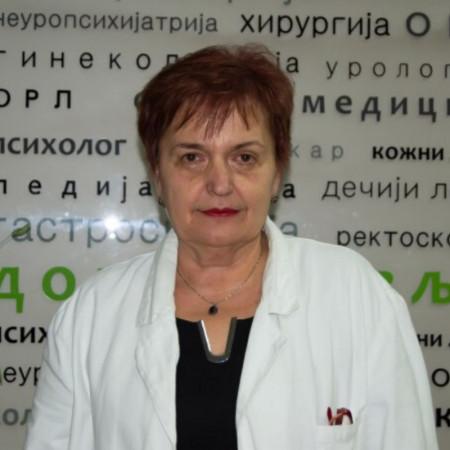 Dr Vesna Davidović, Specijalista interne medicine, endokrinolog